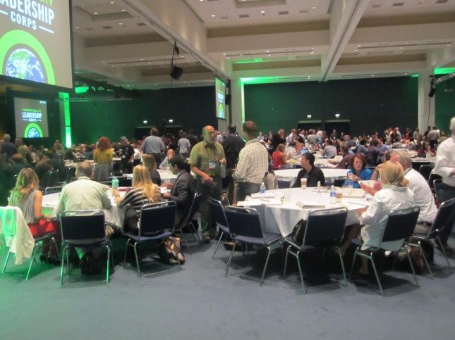 1250 participanten uit 70 landen volgen de klimaatleiderschapstraining van Al Gore.